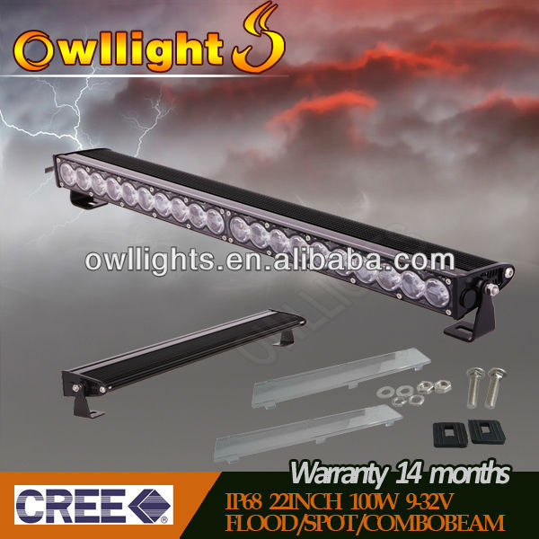 Super Bright Car LED Lighting LED 100w Off Road LED Light Bars 12v 24v 100w tuning light bus headlight