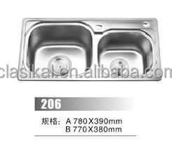 New Design Sri Lanka Double Bowl Stainless Steel Kitchen Sink Buy