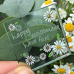 Spaceform Happy Retirement Token Keepsake Gift Ideas For Her & Him
