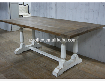 Muebles Industriales Vintage Shabby Mesa De Comedor De Madera - Buy ...