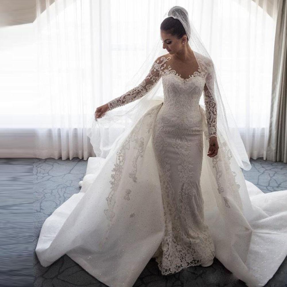 d01ddc396f0 Купить Съемный Круёевными Рукавами Для Свадебного Платья оптом из Китая