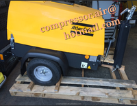 New! model Air 2, atlas copco portable air compressor with kubota engine 14.9kw