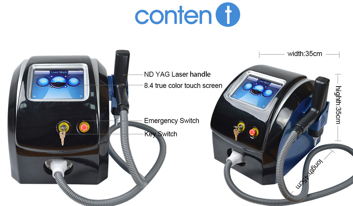 New most popular painless skin whiten pico second laser tattoo removal for sale