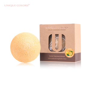 Private Label All Natural Organic Face Wash Baby Konjac Sponge