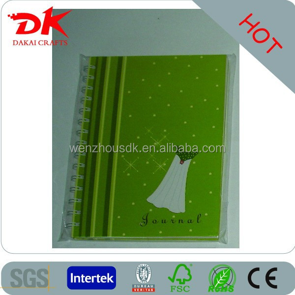 customed cut shape mini Memo Book for kids