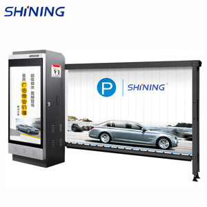 Remote Automatic Parking Lot Advertising Barrier for Car Parking Lot