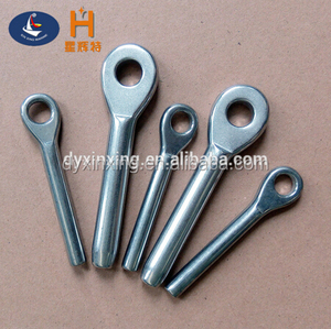 Stainless Steel Swage Eye Terminal for Cable Railing