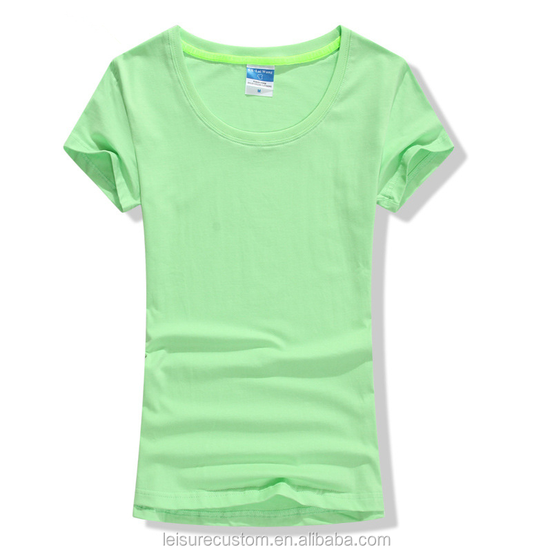 Manufacturers Custom Latest Blank Tshirts for Girls Women Free Size