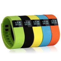 TW64 Fitness Sport Silicone Watch Manual OLED Bluetooth Smart Bracelet