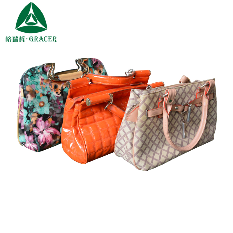 GRACE Used Clothes China Supplier 45KG Mixed Used Bags Branded Second Hand Bags