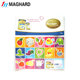 Funky Fun Colorful Magnetic Letters and Numbers Fridge Magnets Kid toys Education