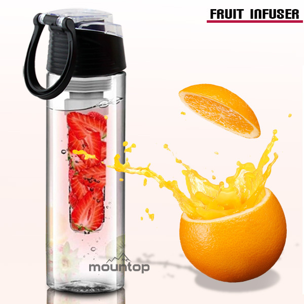 Walmart Mc-Donald's Approved fruit infuser bottle fashionable water bottle hot new for 2015