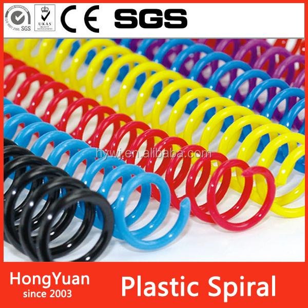Plastic Stocks automatic plastic spiral binder ,high quality amzon tri-blade plastic spiralizer,black plastic spiral spring coil