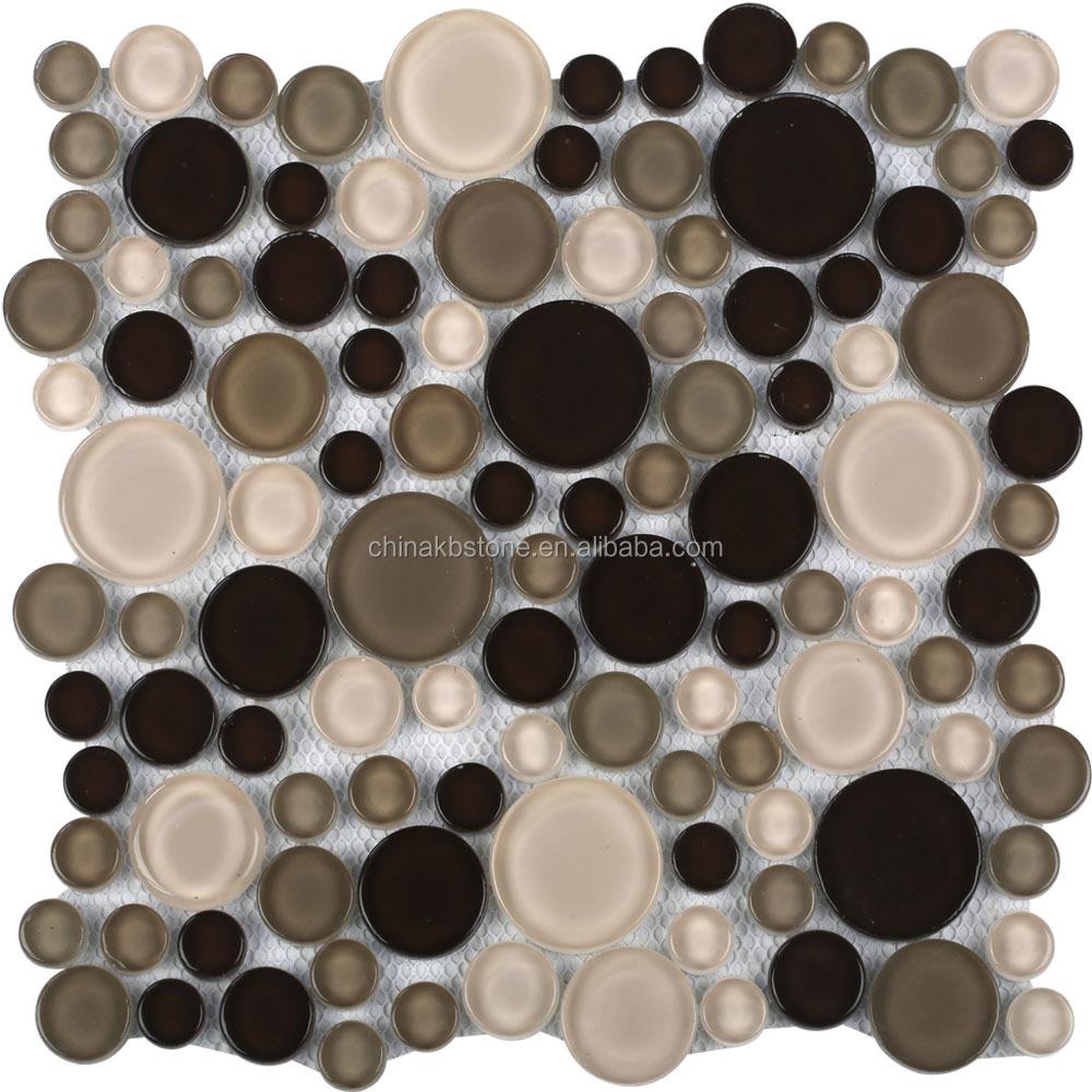Gepolijst goudkleurig glasmoza ek tegels voor keuken buy product on - Oostelijke mozaiek ...