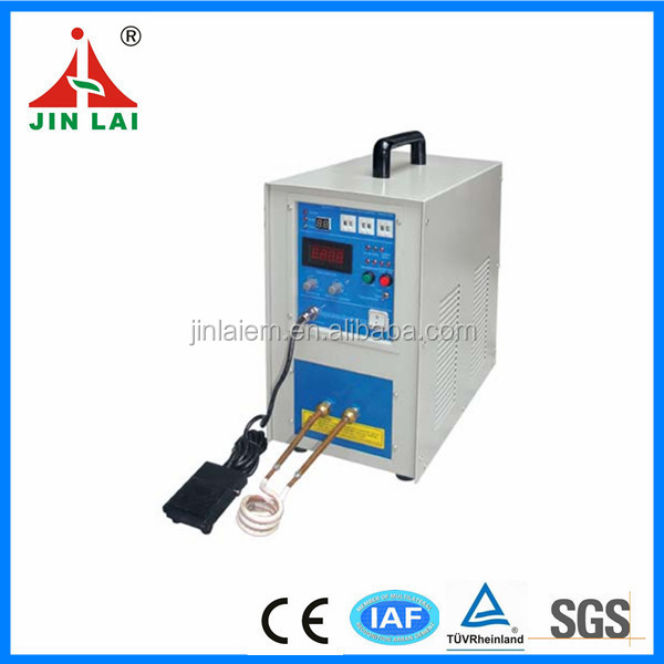 HF Small Induction Heating Machine for Braze Weld Soldering Cutter Lathe Tool Bit Drills (JL-15)