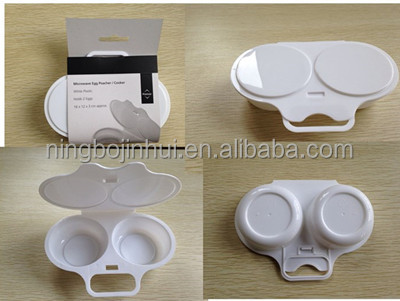 Microwave Egg Poacher/Cooker Round Shaped Stylish Egg Tools фото