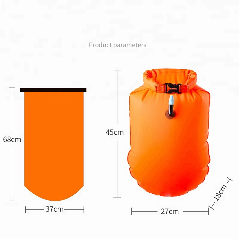 Yuanfeng Bulk Buy from China New Products Floating Swim Buoy with Dry Bag