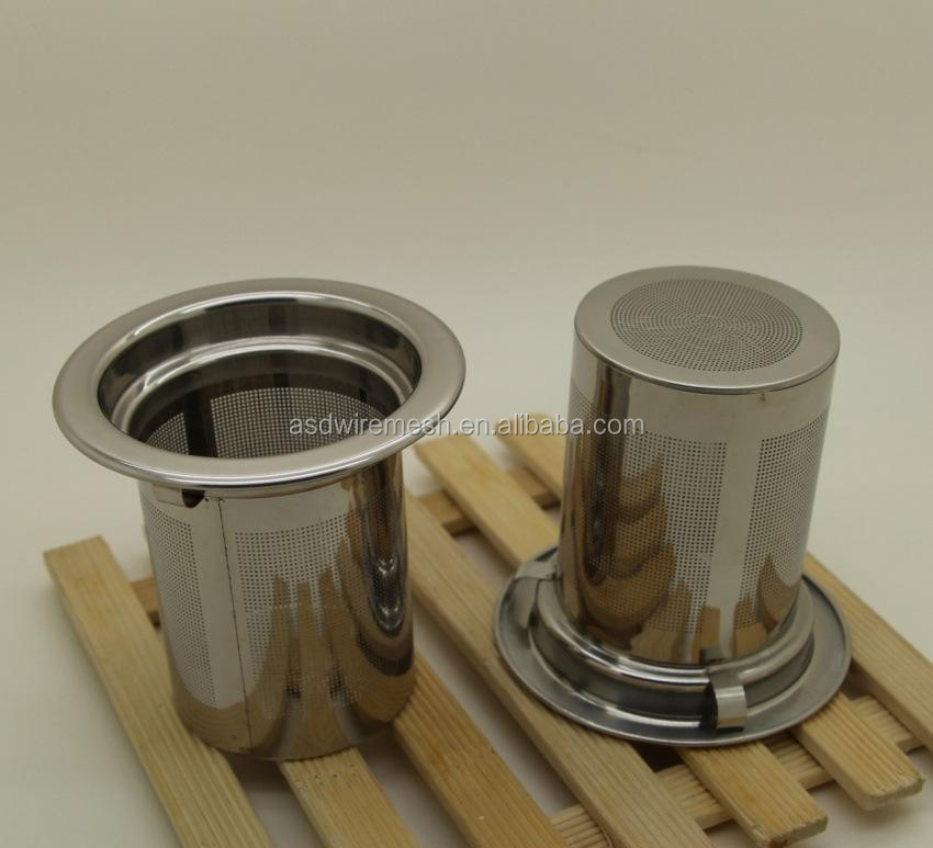 Food Grade bottom price mesh tea strainer(factory)