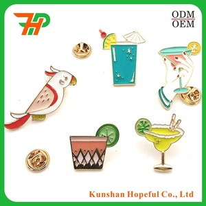 custom cute small bird kunshan lapel pin for kinds