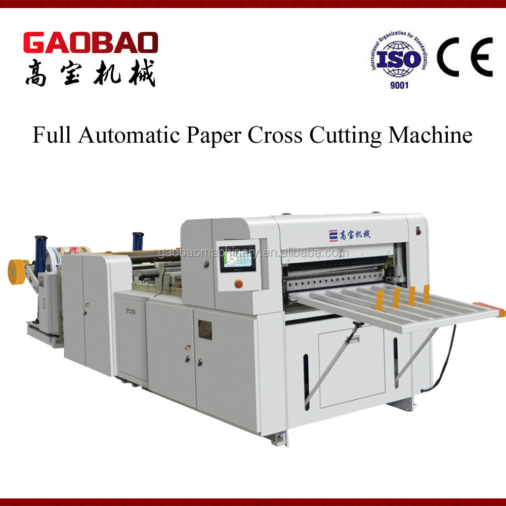 Full Automatic Printing Paper Sheet Cutting Machine