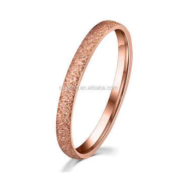 Latest Gold Ring Designs For Girls Vogue Jewelry Fashion Sandblast