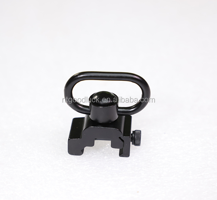 HY Rifle Sling QD Push Button Sling Swivel Adapter For Gun Rifle Scope Mount Hunting Accessories