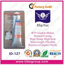 Grey RTV Gasket Maker (sample is free,85g,red,blue,black,clear..)