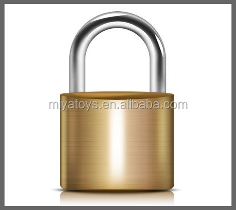 Mini Arc Type Brass Padlock Key