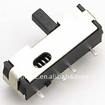 3 heigh knob momentary slide switch smd LY-SK-06