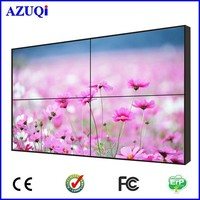 Latest 55 inch Multi Media 3.5mm Narrow Bezel Advertising FHD TV Video Wall