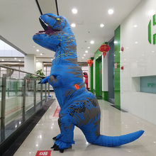 High quality park Adult inflatable suit zoo animal Giant t rex inflatable dinosaur costume wholesale price