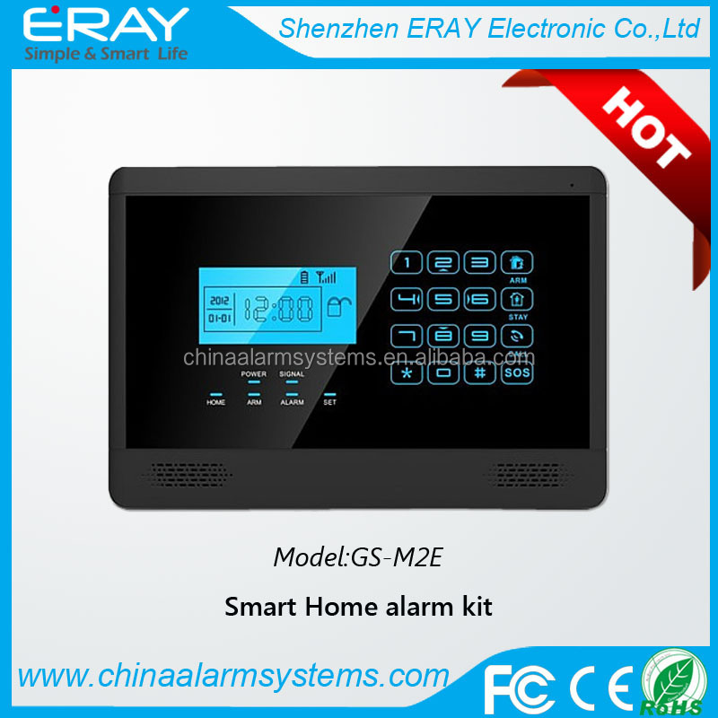 Home Alarm Gsm Burglar Intruder System For Garage Storage House with APP