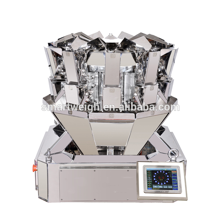 Compact 10 head weigher multihead weigher sw-ms10