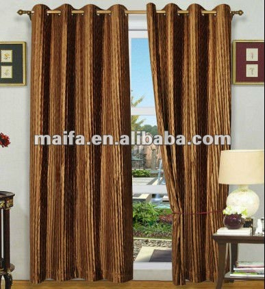 Yellow Hotel Velvet Curtains And Drapes With 340g/m2 New 2012