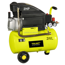 TOLHIT Motore di Rame 2HP 1.5KW 24L Portatile Compressore <span class=keywords><strong>D</strong></span>'<span class=keywords><strong>aria</strong></span> Industriale