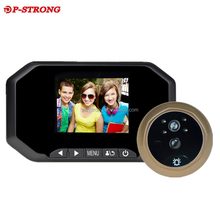 2018 New Arrival Home Secutity Digital Peephole Wifi With Intelligent Function