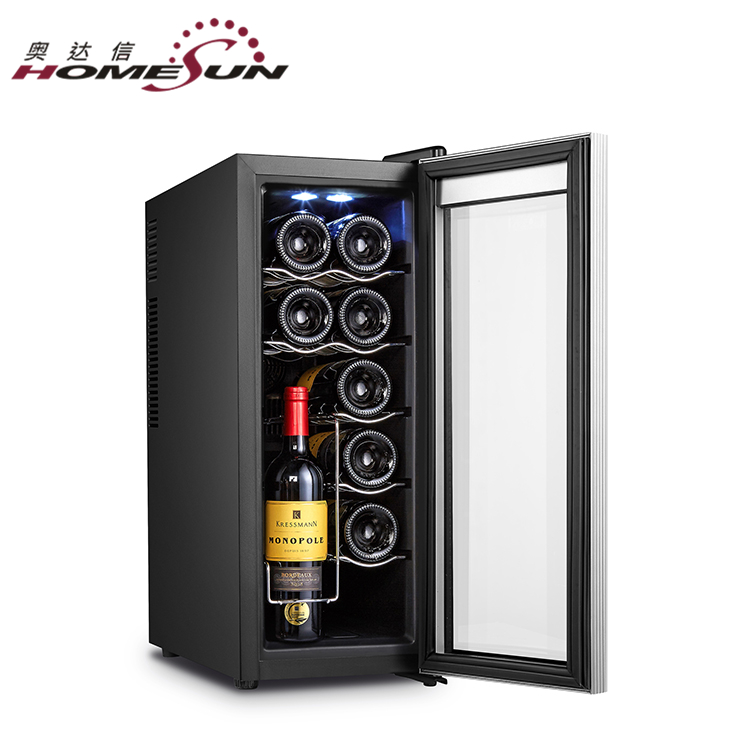 BCW-35A 12bottles Narrow Peltier Red Wine Cellar Fridge