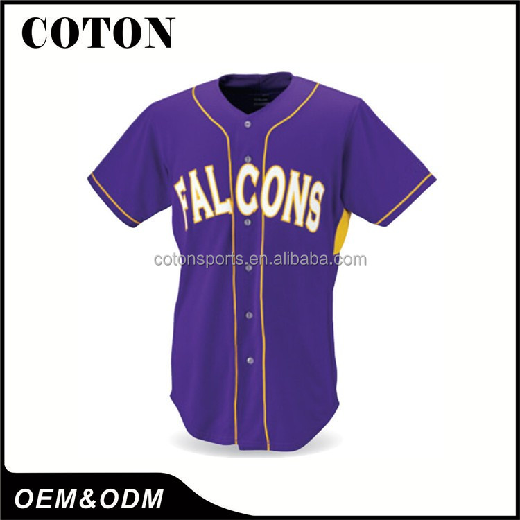 2017 Hotsale Sportswear Softball Wear OEM Customized Logo Name Numbers Adult Man Youth Baseball Jersey