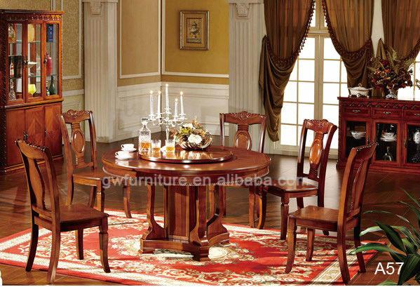 Venta caliente mesa y sillas de comedor antiguo-Sets para Sala ...