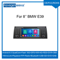 For BMW E39 Android car dvd player With GPS Navigation Mirror Link touch screen Bluetooth Radio DAB MP5 USB SD