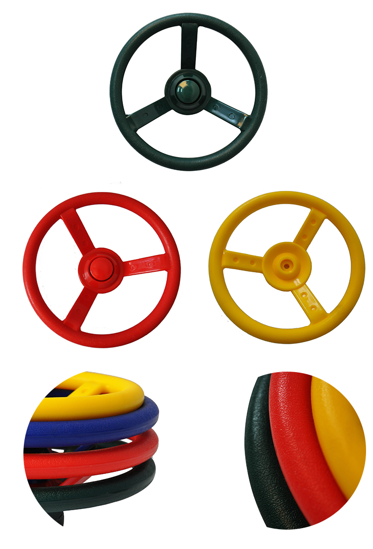 Plastic Toy Steering Wheel For Car Seat For Children