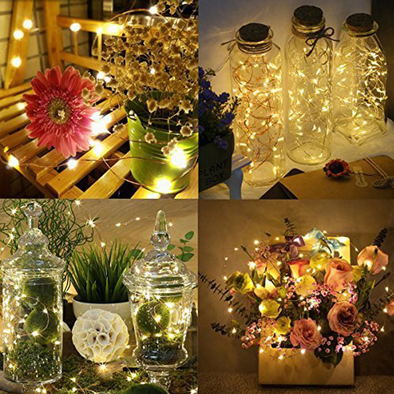 Christmas color Changing Solar Powered String Lights