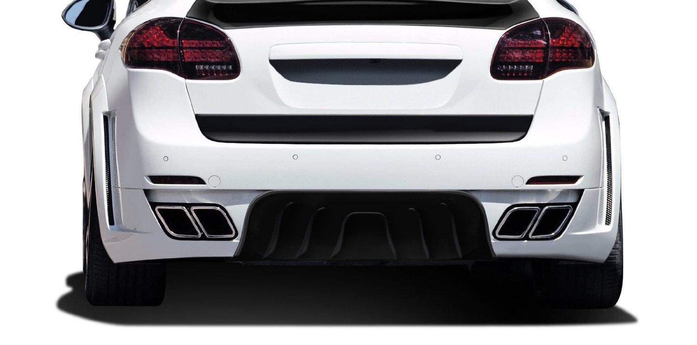 2011-2014 Porsche Cayenne AF-4 Wide Body Rear Diffuser ( GFK ) - 1 Piece