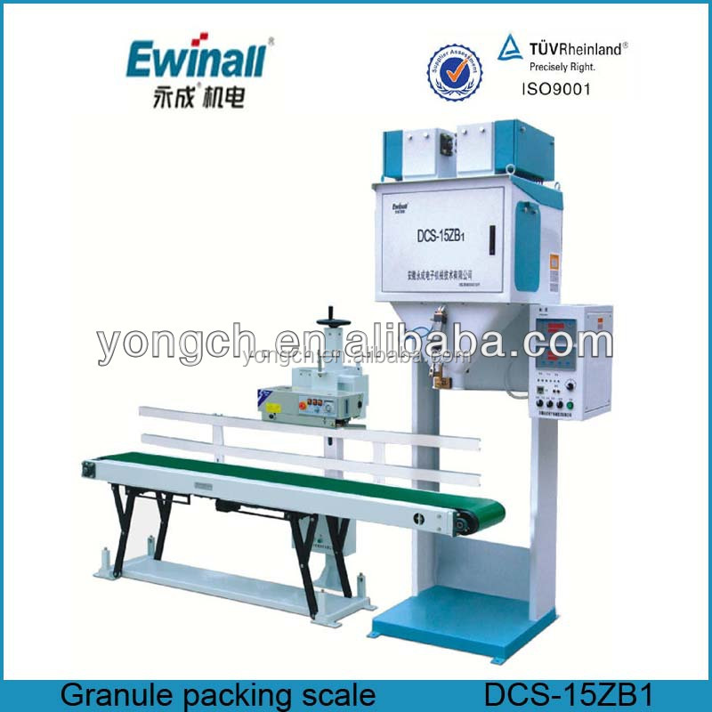 plc system bean packing scale