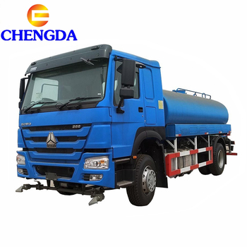 SINOTRUK HOWO 6x4 EuroII 20TON water tank for truck