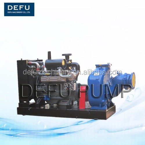 Diesel engine driven 8 inch Self priming Pump With Max Capacity 600 m3/h