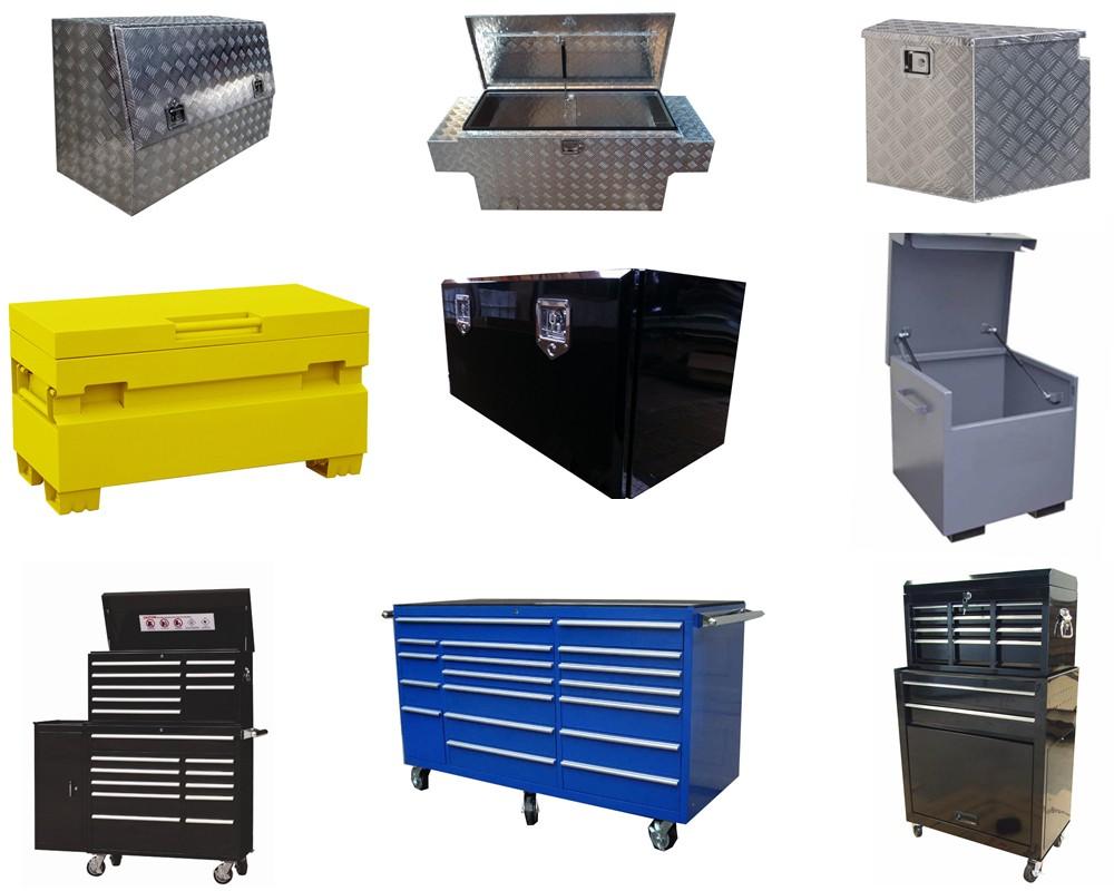 Customized Steel Job Site Tool Box Van Forklift Garage