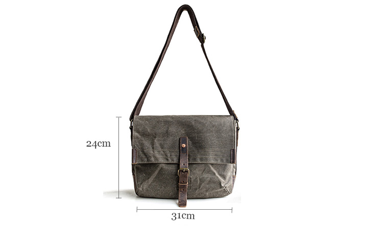 New design fashion blank canvas shoulder bags wholesale small messenger bag