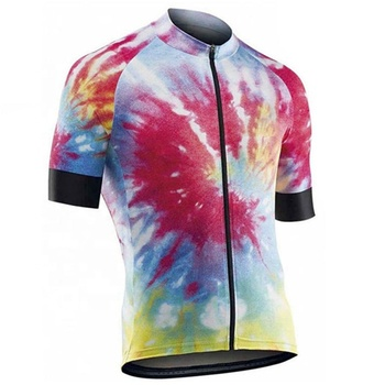 Summer Short Sleeve Cycling Jersey Clothing Team Mountain Wear Bicycle Shirt