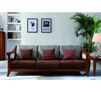 Wood Sofa Furniture With Wooden